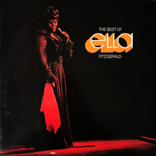 Ella Fitzgerald ‎- The Best Of Ella Fitzgerald (LP) (EX/VG-)